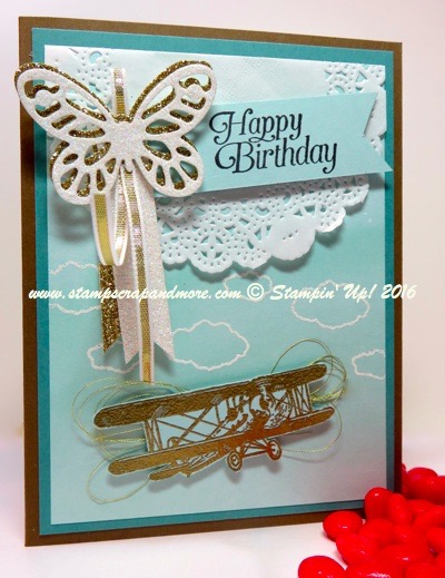 Sky is the Limit, Stampin' Up! Sale-a-Bration