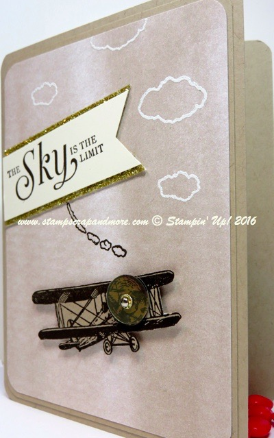 Sky is the Limit, Stampin' Up! Sale-A-Oration