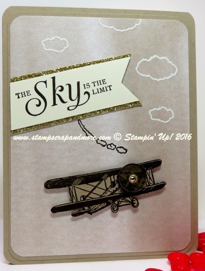 Sky is the Limit, Stampin' Up!