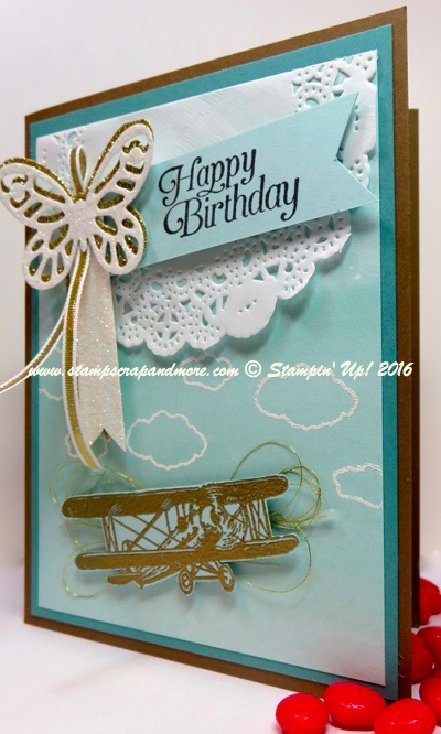 Sky is the Limit, Stampin' Up!, Sale-A-Bration