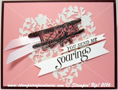 Sky is the Limit, Stampin' Up Sale-a-Bration
