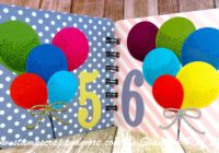 Learning to count with Stampin' Up! Balloons