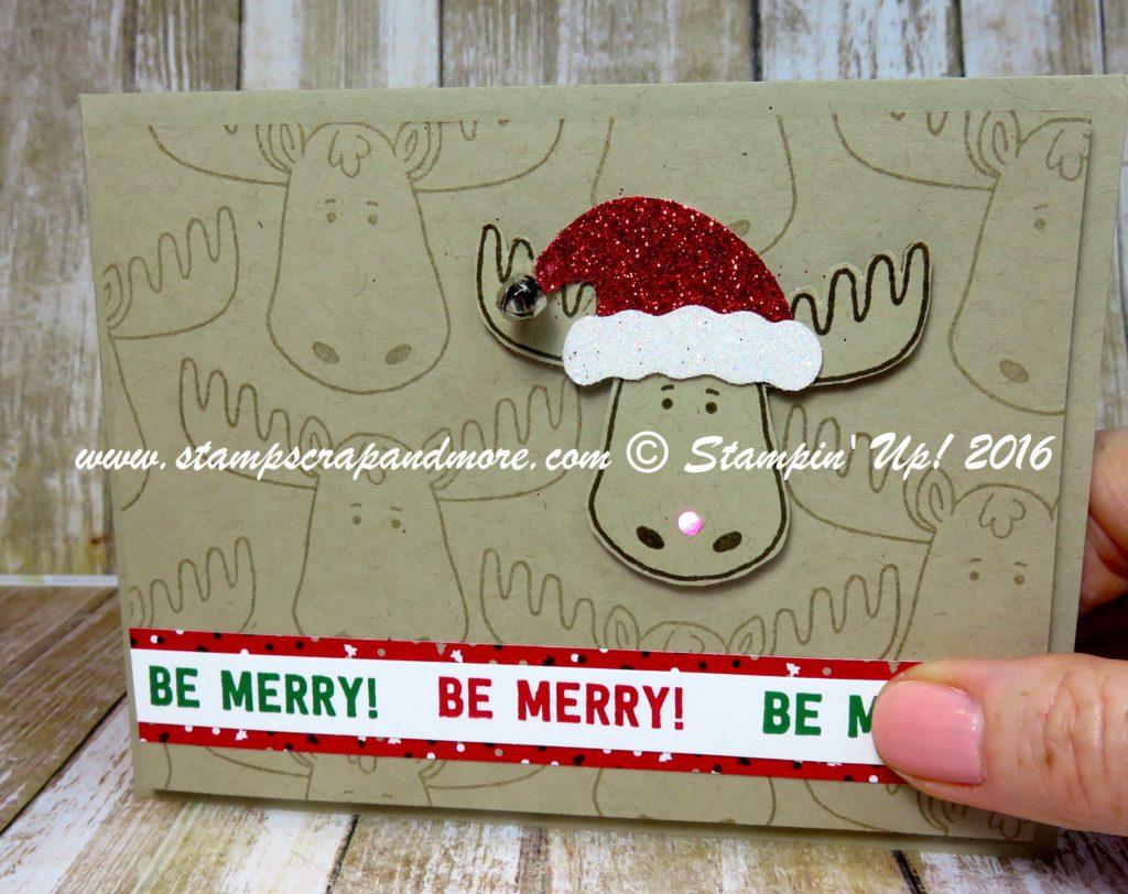 Jolly Friends, Christmas, Card, Lights