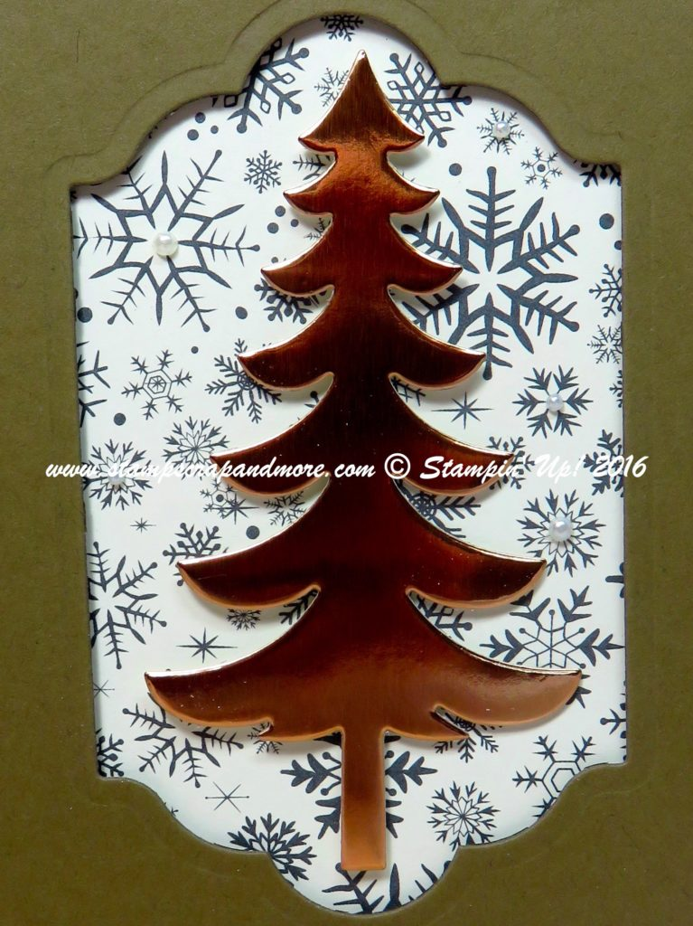 Santa's Sleigh, Christmas Card, Stampin' Up!