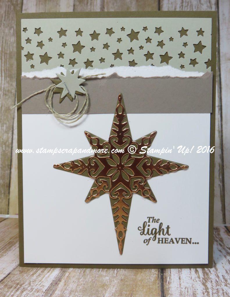Card - Christmas, Star of Light