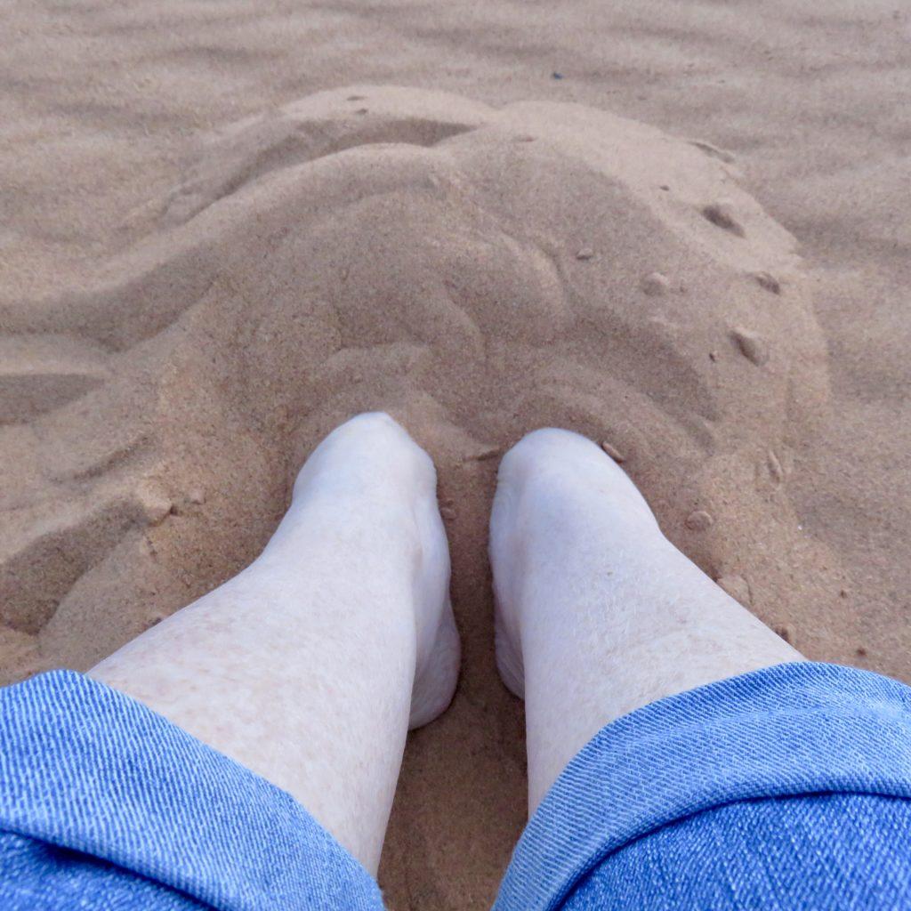A quiet spot in the Sahara