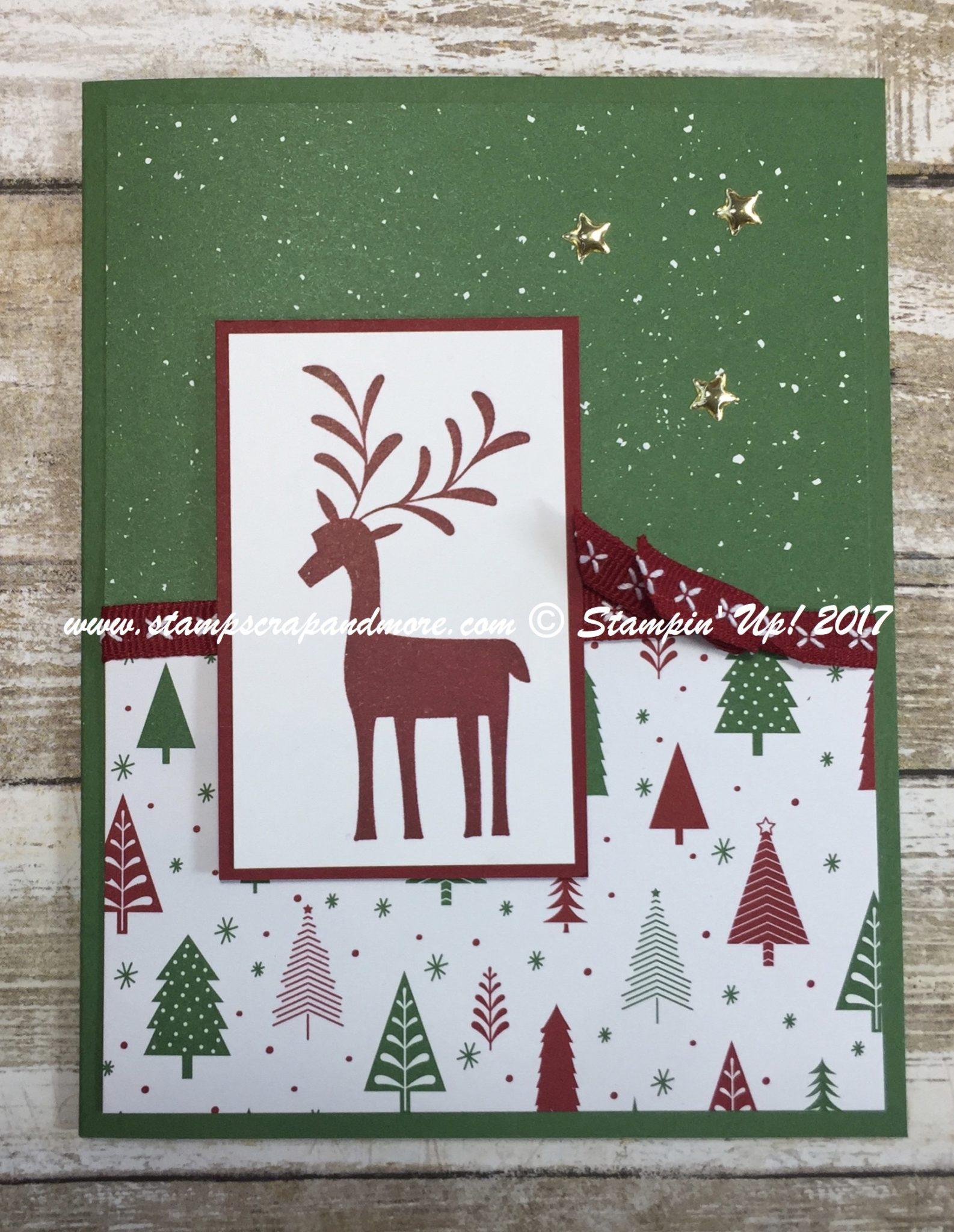 Merry Mistletoe Christmas Card