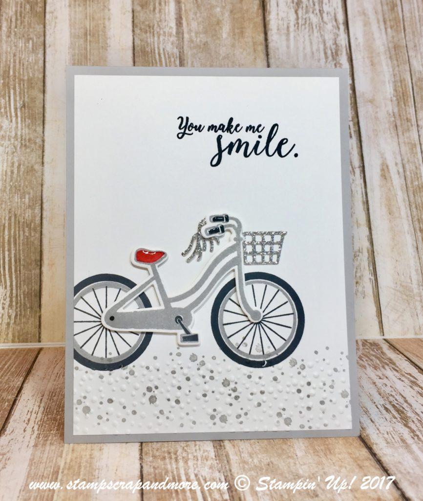 Stampin' Up! Bike Ride.