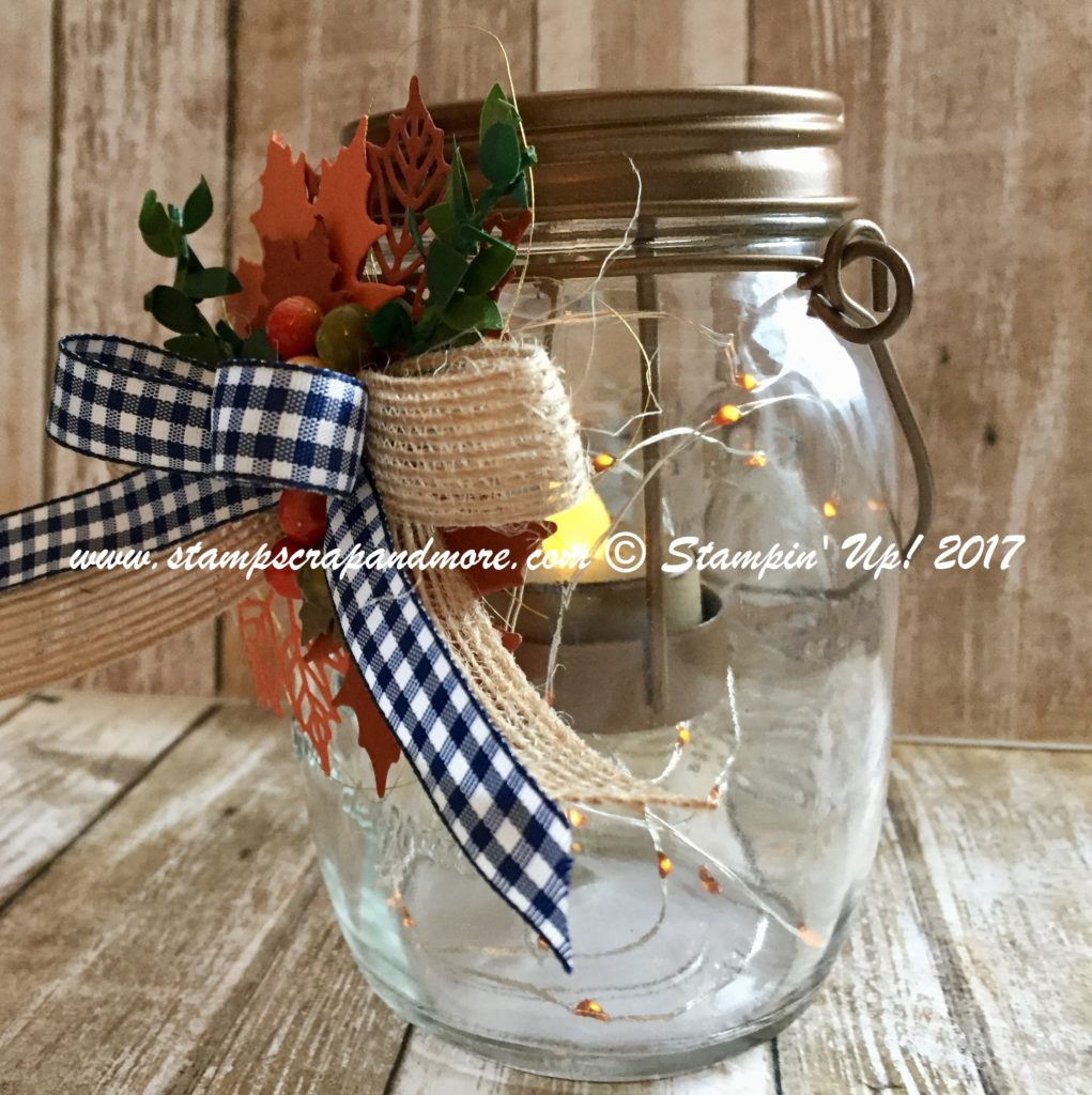 Colorful Seasons Mason Jar